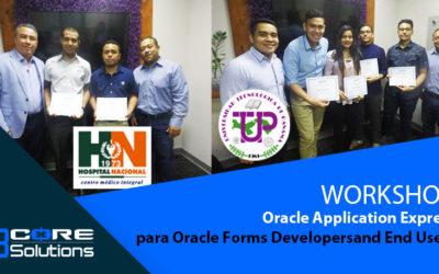 WORKSHOP Oracle Application Express – Hospital Nacional & UTP