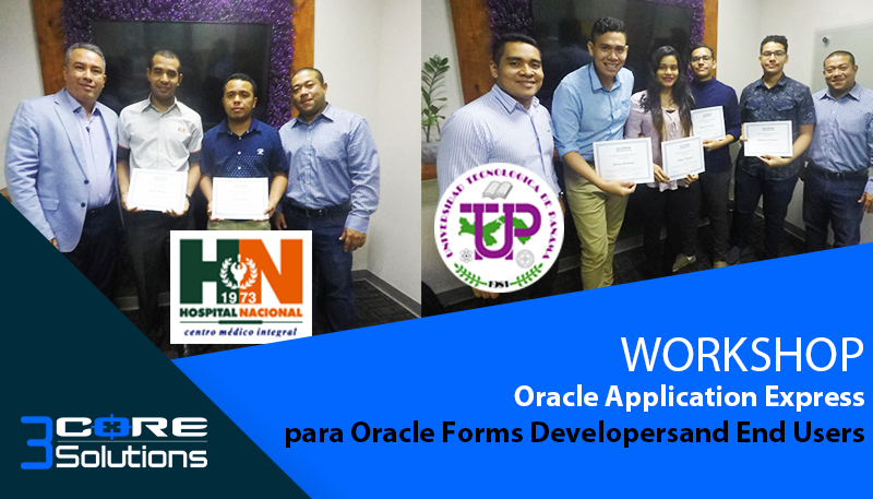 WORKSHOP Oracle Application Express – Hospital Nacional & UTP